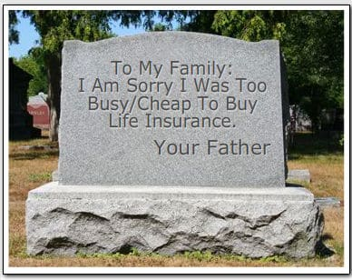 Saved enough money for your funeral?